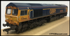Bachmann Class 66 66728 GBRF - Expertly Resprayed, Named, Weathered & Renumbered